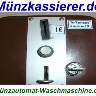 Gepflegter Münzkassierer Münzzeitzähler Waschmaschine