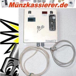 Münzkassierer Kassierautomat mit Stromzähler