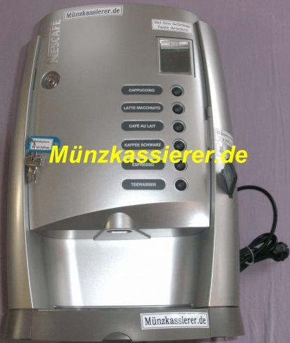 Nescafe KOMO Kaffeemaschine m. Münzeinwurf