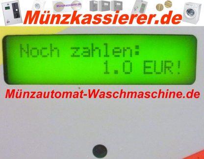 Münzautomat Waschmaschine Türentriegelung Bargeld u. Chipkarten