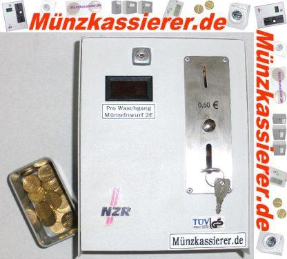 Münzautomat Zeitverkaufsautomat Wachmaschine