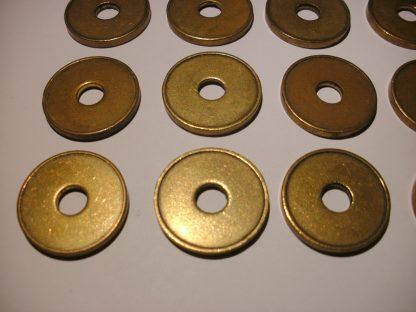 10 x Beckmann Münzen Wertmarken Ø 22 x 2,3 Loch Ø 6mm. Münzautomat