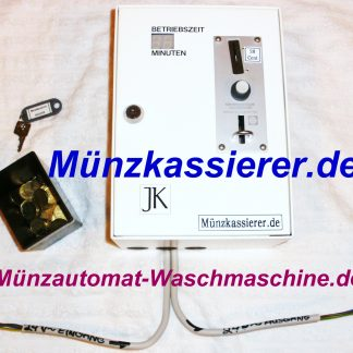 Münzkassierer Münzautomat DUSCHE 24V~ Kleinspannung