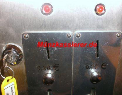 Münzautomat Münzkassierer Edelstahl DUSCHE 12V FRANKE