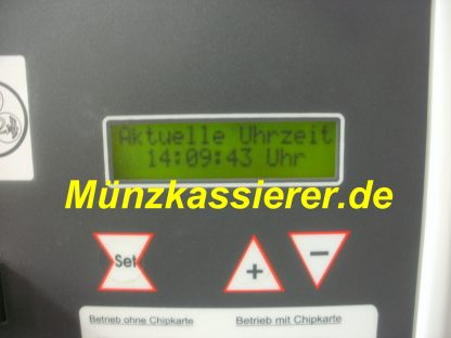 Münzkassierer Münzautomat M-A-G EZ C22 Chipkartenfunktion