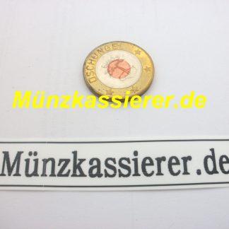 20 x Münzen Wertmarken Ø 26,8 x 2,2mm. Münzkassierer